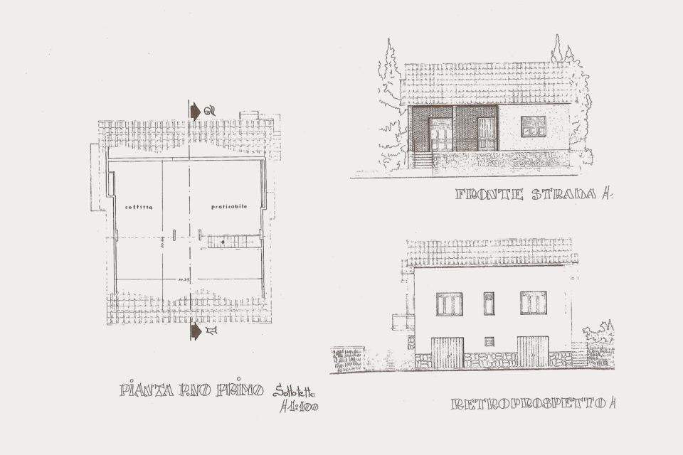 Excellent villa nel centro di cavriglia with disegni di ville for Disegni di ville